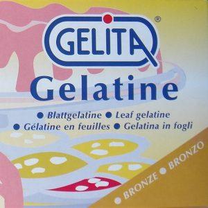 Gelatin Bronze Sheets 125-155 bloom, 300 pc