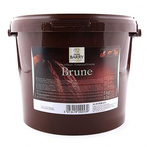 Cacao Barry Pate A Glacer Brune / Dark