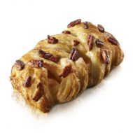 Large Maple Pecan Plait Danish - 3.4 oz