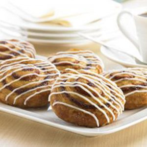 Mini Cinnamon Swirl Danish - 1.5 oz