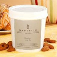 Mandelin Marzipan Almond Paste Blanched 30 10 5 Lbs