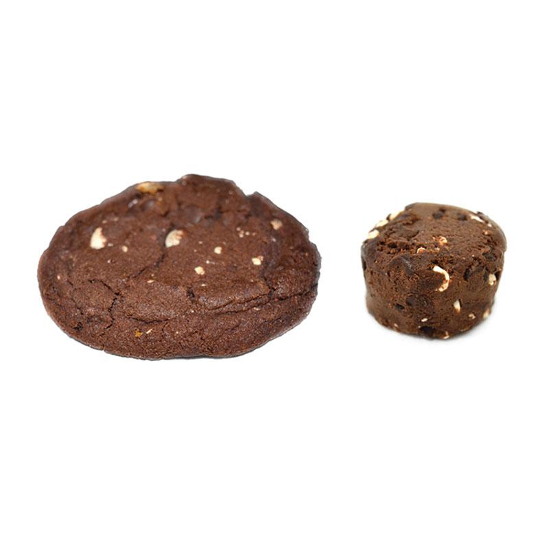 Frozen Cookie Dough Double Chocolate - Divine Specialties Double Chocolate Chip Cookie Dough