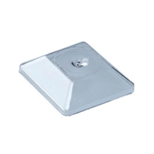 Disposable Plastic Square Cup Lids For Catering Available In Wide Range Of Sizes