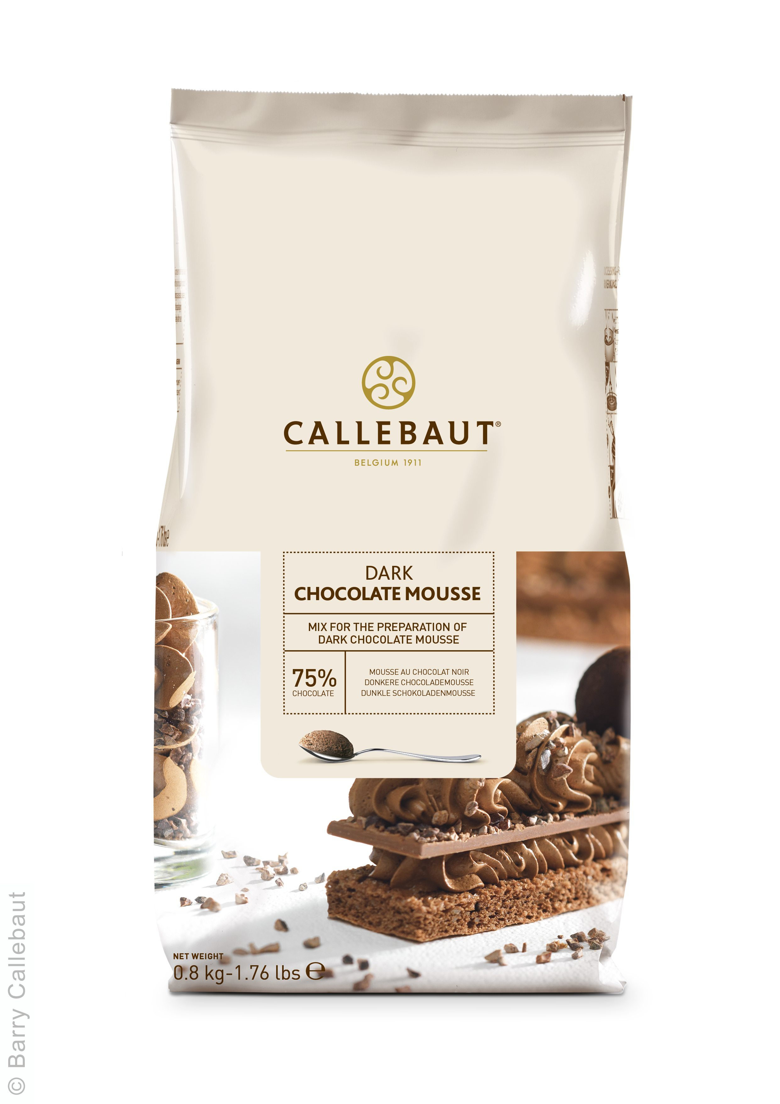 Callebaut Chocolate Mousse 1.76 lbs - Divine Specialties
