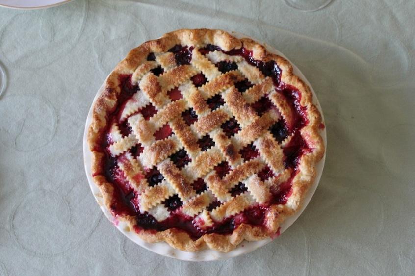 Cherry Pie Cooke Dough