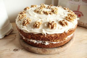 Hummingbird Carrot Cake